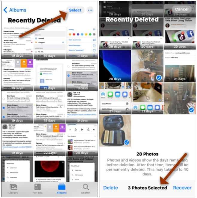 iOS Recover Photos