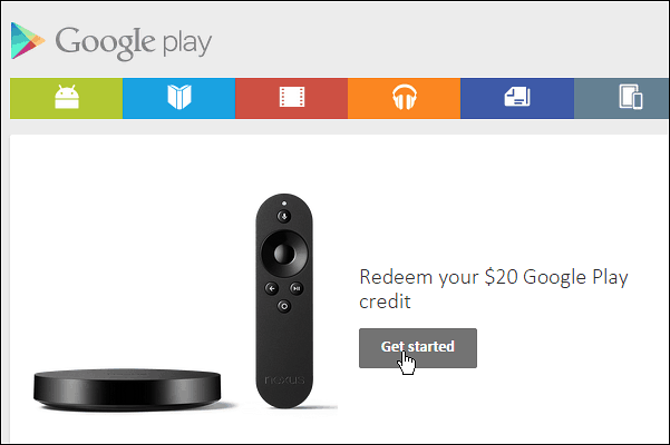 $20 Google Play Credit