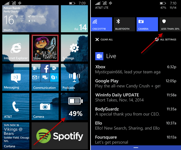 Battery Saver New Features
