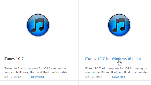 How to Downgrade iTunes 12 for Windows to an Earlier Version