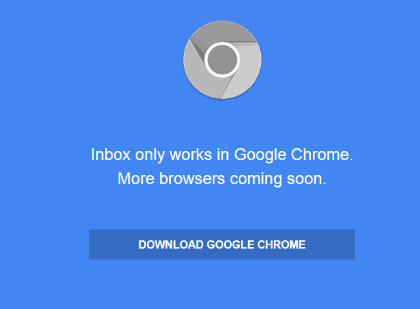 Only Works in Chrome