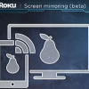 Roku screen mirroring