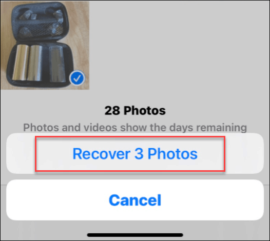 Recover Photos from iPhone iOS 14