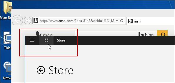 Full Screen Windows 10
