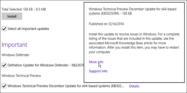 KB3025096 windows update