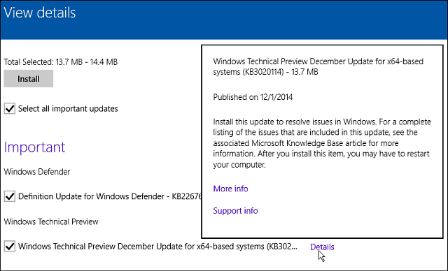 Windows 10 Update December