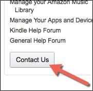 ... Refunds on Amazon. amazon-contact-page