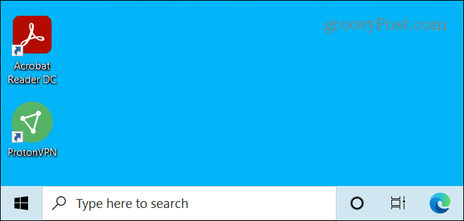 Windows 10 Search box