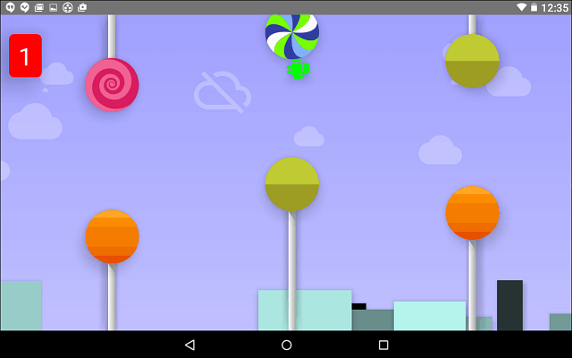 Android Lollipop Hidden Game