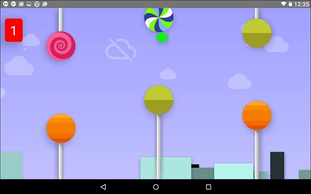 Android Lollipop Hidden Game