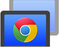 how to connect remote chrome book to iphone