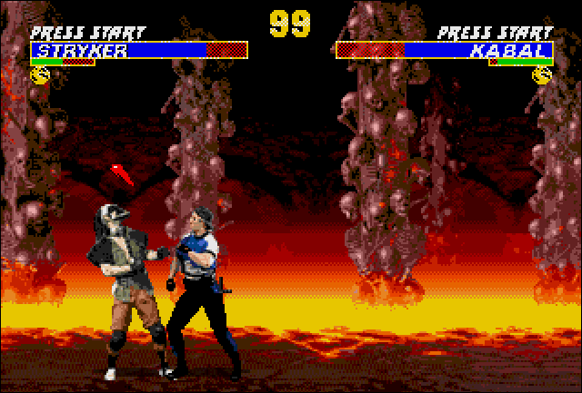 Multiple Mortal Kombat Games
