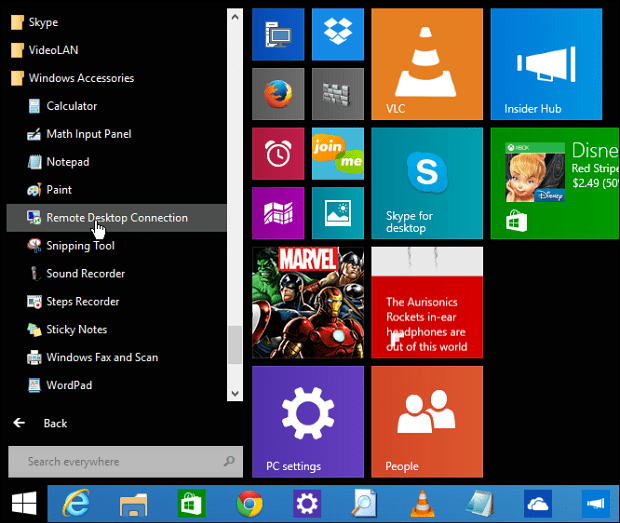 how to change the start menu on windows 8.1