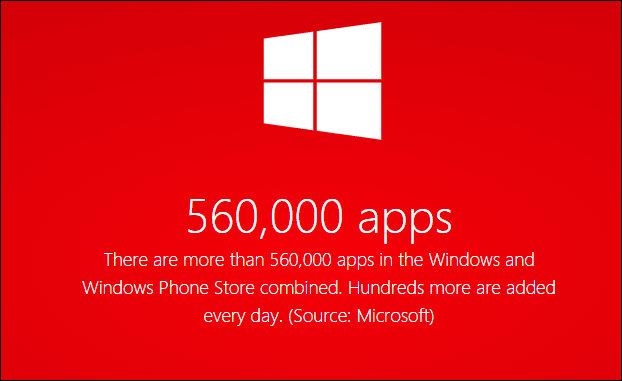 half a million apps