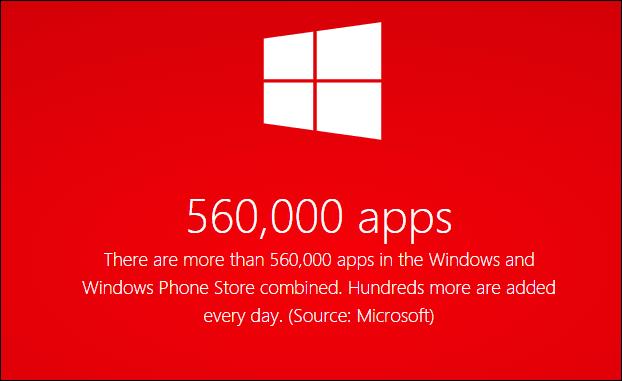 half a million apps