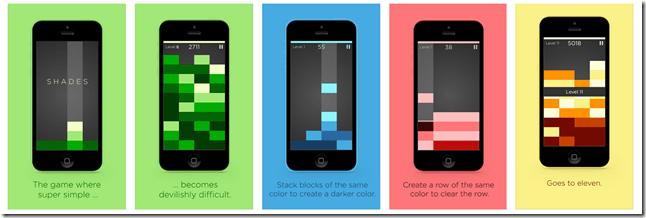 Shades for iOS - Screenshots