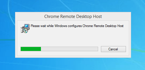 installing Host App chrome