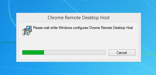 installing Host App chrome