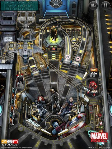 Marvel Pinball for IOS