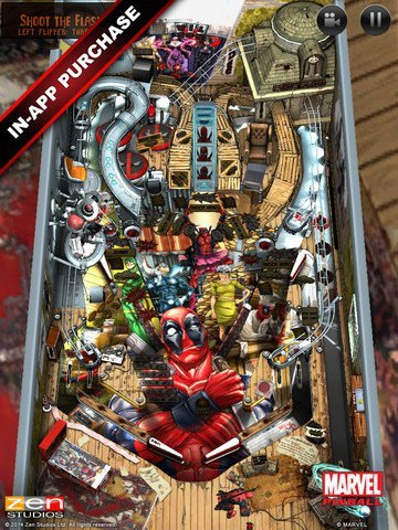 Marvel Pinball for IOS Add-on