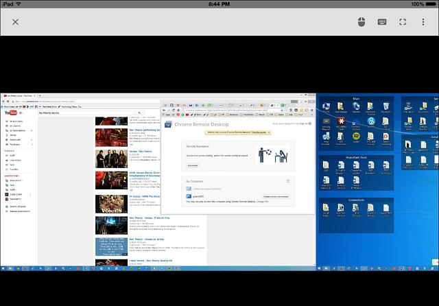 remoting into Windows 8.1 PC