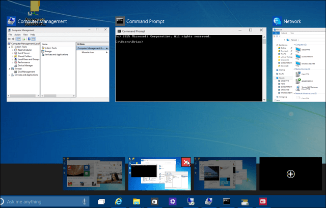 Close Windows 10 Virtual Desktop