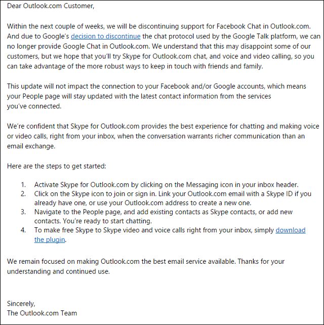 Microsoft Email