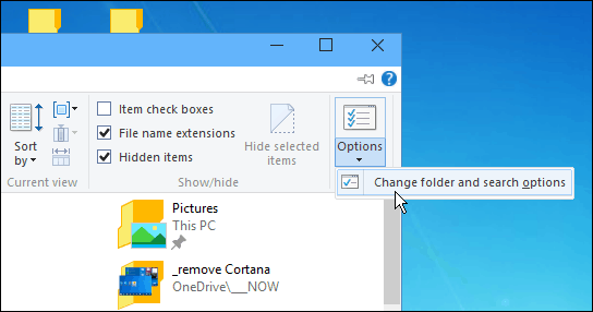 Windows 10 File Explorer View