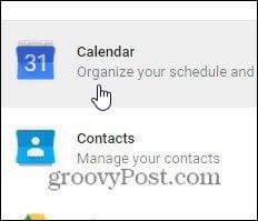 edit calendar settings