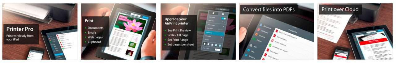 printer-pro ipad screenshots