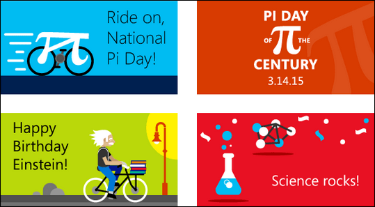 Pi Day digital gift cards