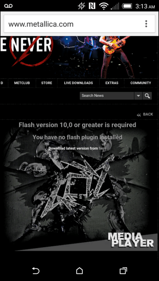flash required