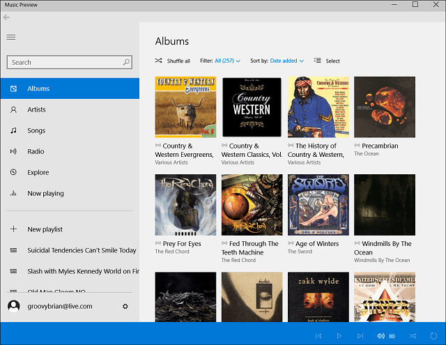 music preview app