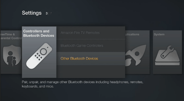 Fire TV Settings