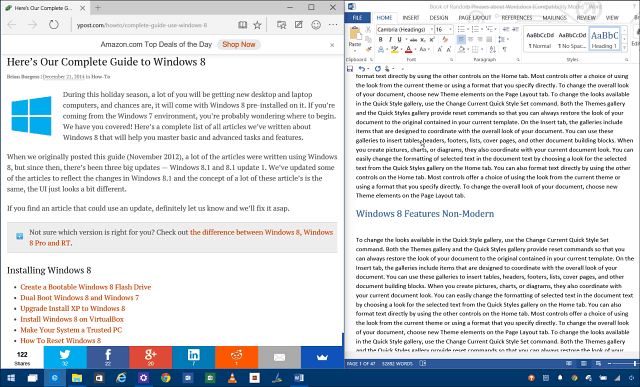 Split Screen Windows 10