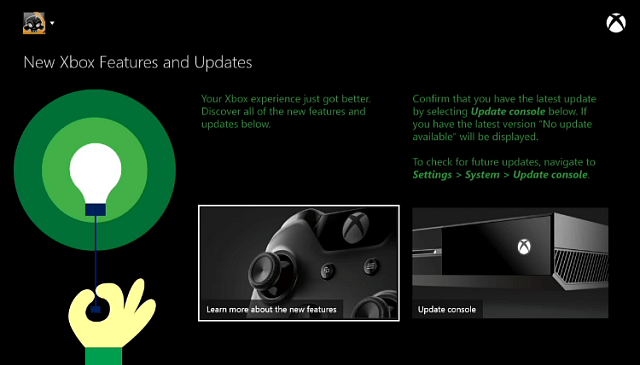Xbox One April Update