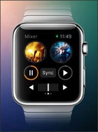 djay 2 for the Apple Watch