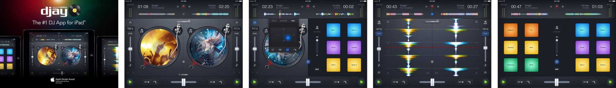 djay2 for apple ipad