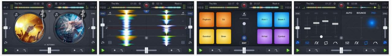 djay 2 for Apple iPhone Screenshots