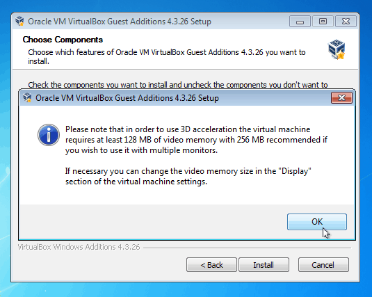 How to Enable Windows 7 Aero Glass in VirtualBox