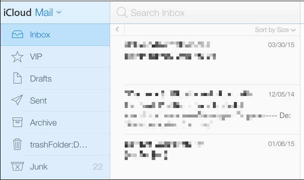 icloud mail settings