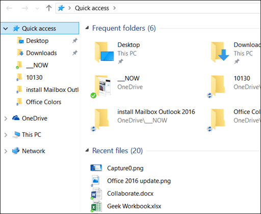 How to Disable Quick Access in Windows 10 File Explorer