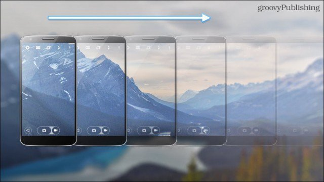 HDR Panorama Mockup