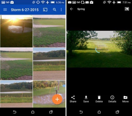 OneDrive Android Chromecast