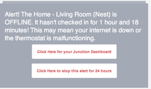 Nest Error from Junction