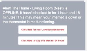 Nest Error from Junction