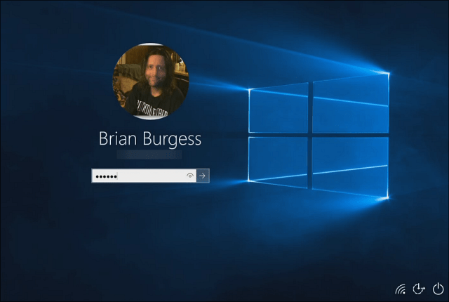 Windows 10 Hero Login Screen