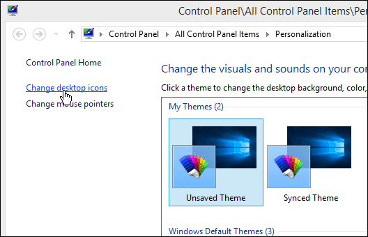 Windows 10 Tip: Add or Remove System Icons to the Desktop