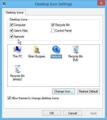 modify icon windows 10