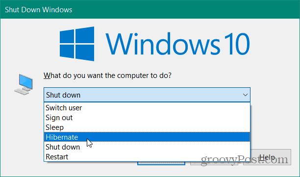Cách Bật Chế Độ Ngủ Đông Hibernate Trên Windows 10 - VERA STAR